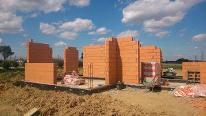 projekt domu jednorodzinnego - fundamenty