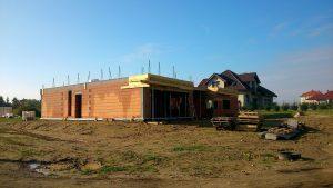 projekt domu jednorodzinnego - ściany